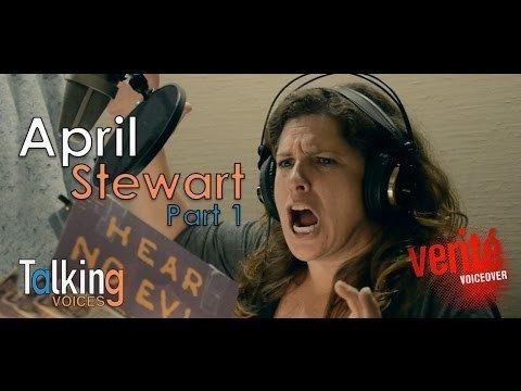 April Stewart Talking Voices April Stewart Part 1 YouTube