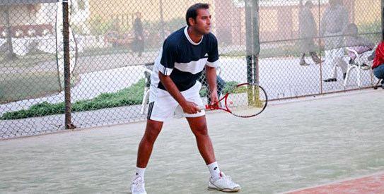 Aqeel Khan tennis player Pakistan 360 degrees