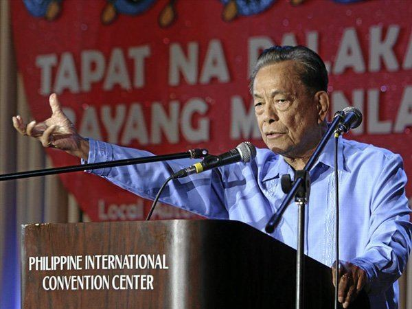 Aquilino Pimentel Jr. Federalism will empower LGUs Nene Pimentel Inquirer News