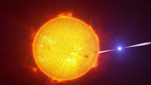 AR Scorpii Astronomers Find New Type of Binary Star Astronomy SciNewscom
