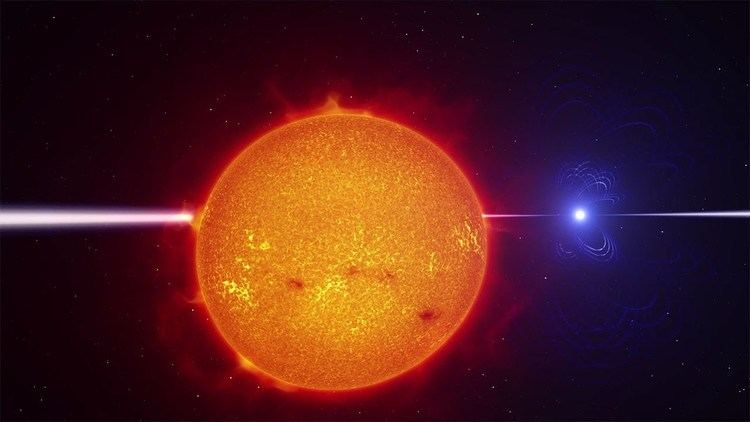 AR Scorpii Binary star system AR Scorpii 4K YouTube