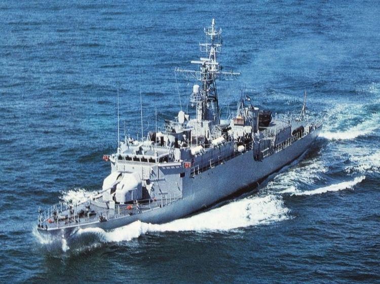 ARA Drummond FDRA Fuerza Naval Armada Argentina Corbeta Clase A69 ARA
