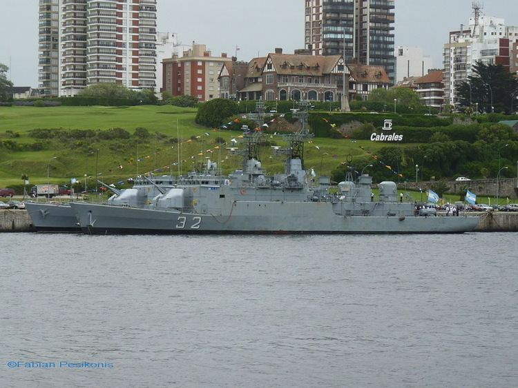 ARA Guerrico (P-32) ARA Guerrico P32 ShipSpottingcom Ship Photos and Ship Tracker