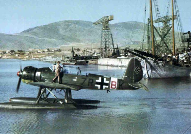 Arado Ar 196 World War II in Pictures Arado Ar 196 Seaplane