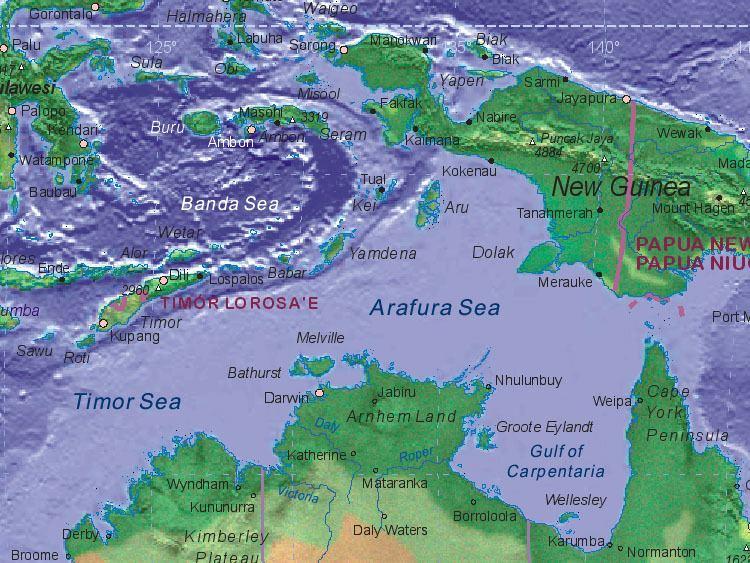 Arafura Sea - Alchetron, The Free Social Encyclopedia