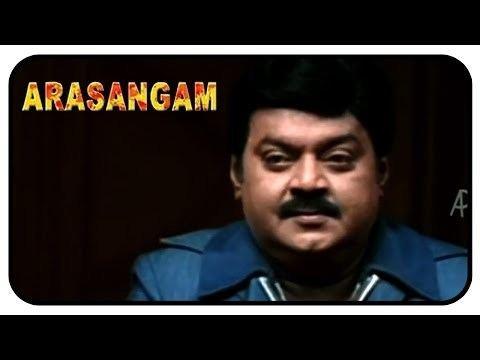 Arasangam movie scenes Arasangam Tamil Movie Scenes Vijayakanth threatens a doctor Navneet Kaur Srikanth Deva