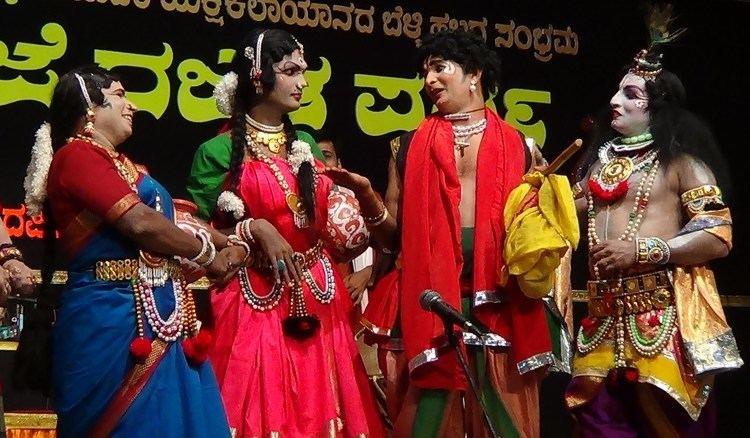 Aravind Bolar Yakshagana Bhojaraj VamanjoorAravind bolarPrajwal kumarHasya