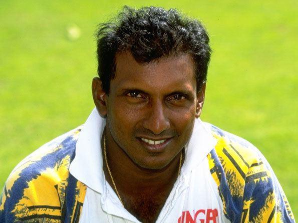 Aravinda de Silva (Cricketer) playing cricket