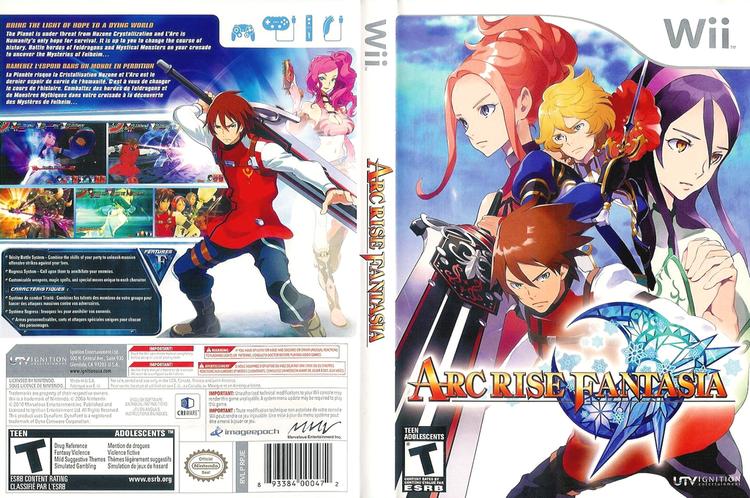 Arc Rise Fantasia - Alchetron, The Free Social Encyclopedia