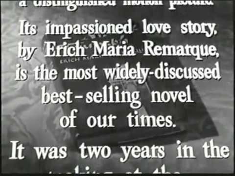 Arch of Triumph (1948 film) Arch of Triumph 1948 Film Trailer YouTube