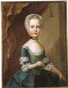 Archduchess Maria Theresa of Austria (1762–1770) httpsuploadwikimediaorgwikipediacommonsthu