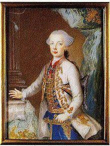 Archduke Charles Joseph of Austria (1745–1761) uploadwikimediaorgwikipediacommonsthumbcc6