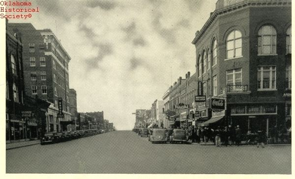 Ardmore, Oklahoma in the past, History of Ardmore, Oklahoma