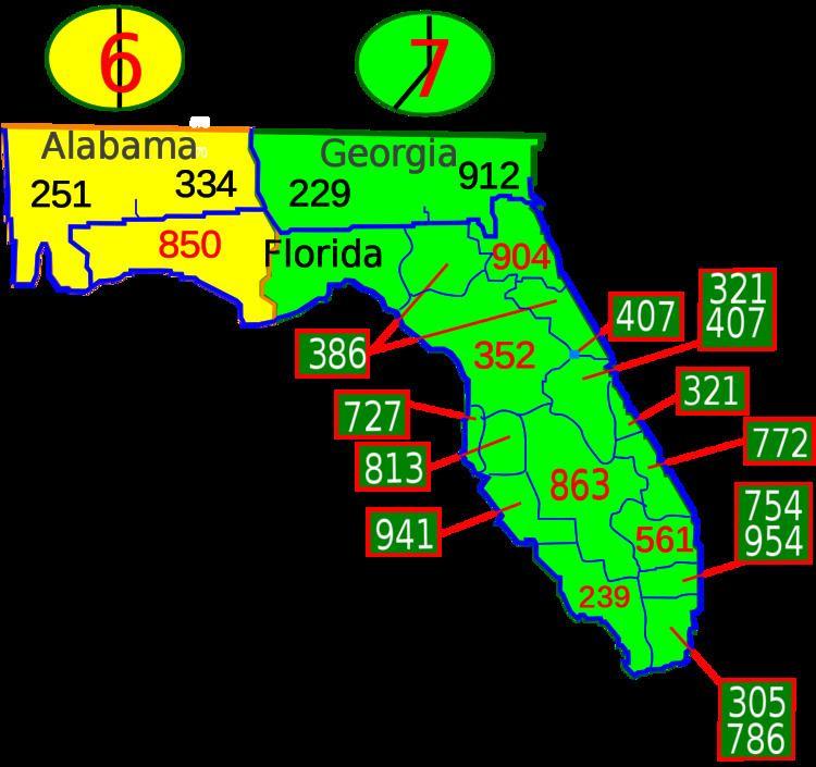 Area code 727