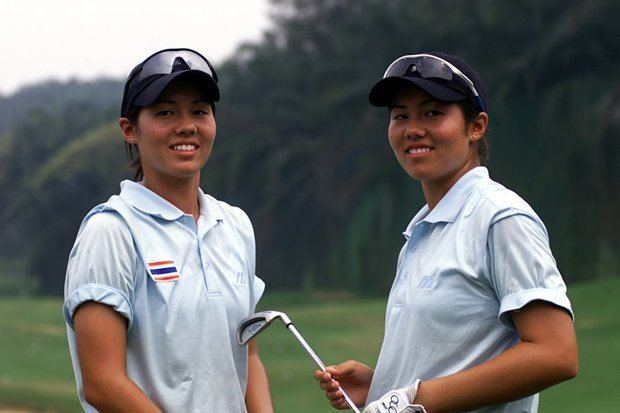 Aree Song GOLFWEEK Photo by Getty Images ltpgtNaree Song left