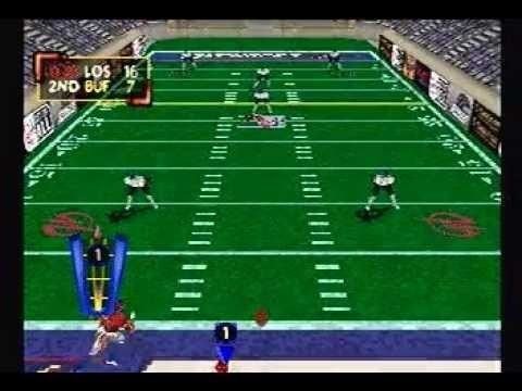 Arena Football (2006 video game) Kurt Warner39s Arena Football Unleashed Gameplay Footage PS1 YouTube