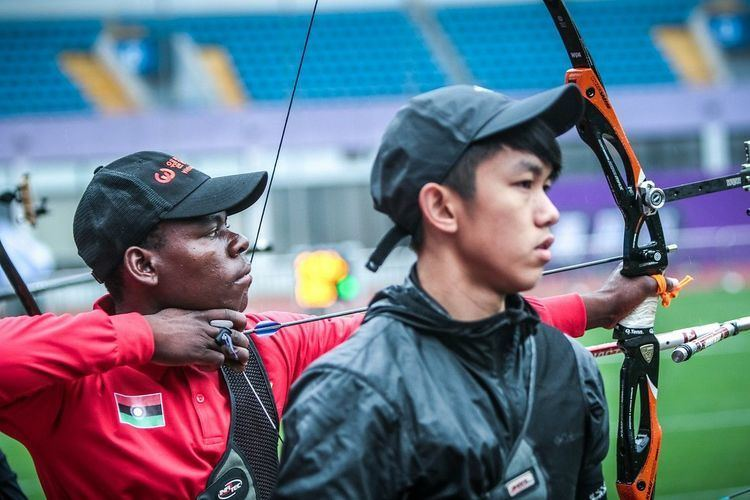 Areneo David Malawis Areneo David Pursuing Rio 2016 Olympic dream World Archery