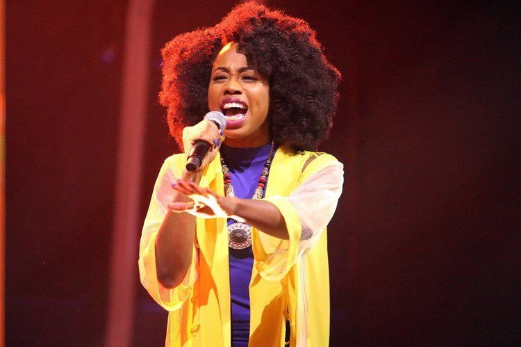 A'rese 28year old theatre actress A39rese wins debut The Voice Nigeria
