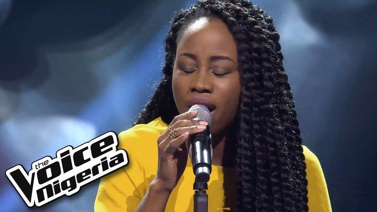 A'rese A39rese sings 39Skyfall39 Blind Auditions The Voice Nigeria 2016