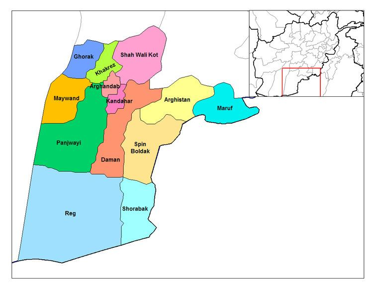 Arghistan District