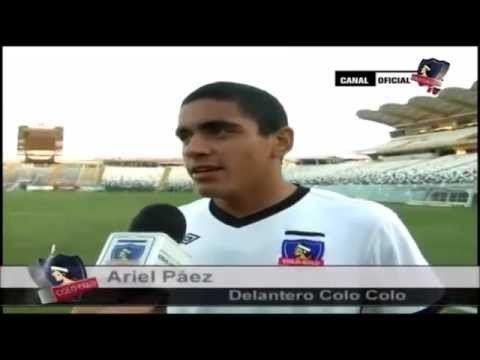 Ariel Páez Ariel Pez Jugador ColoColo El Tren Pez YouTube