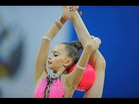 Arina Averina Arina Averina Ball GP Moscow 2014 YouTube