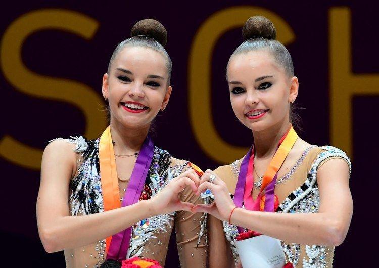 Arina Averina Champions Arina and Dina Averina Hate to part and win together