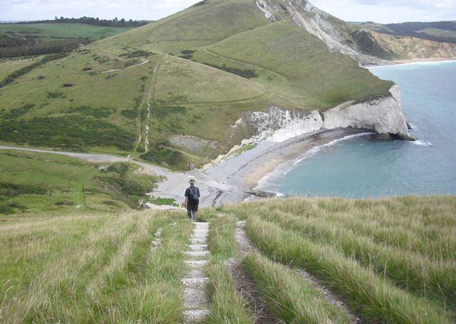 Arish Mell FileSouth West Coast Path above Arish Mell geographorguk