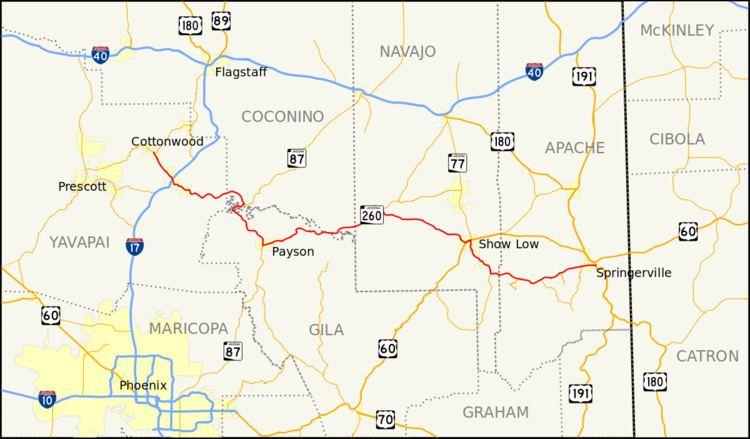 Arizona State Route 260