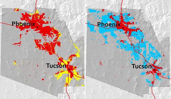 Arizona Sun Corridor Arizona39s Natural Infrastructure The Nature Conservancy39s Center