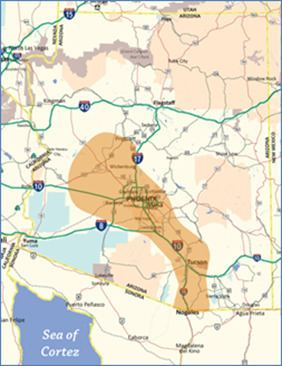 Arizona Sun Corridor Border Planning in Southeastern Arizona Regional Planning