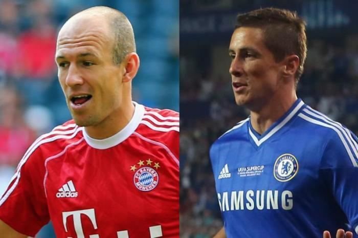 Arjen Robben 10 pictures of footballers youd never believe are the same age