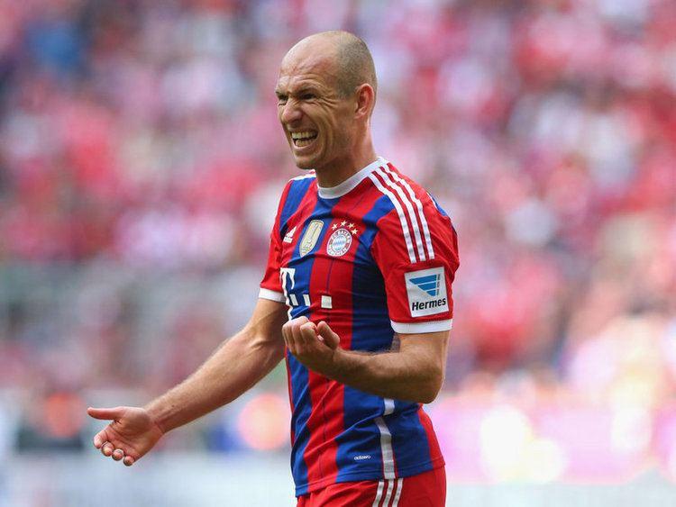 Arjen Robben Arjen Robben Bayern Munich Player Profile Sky Sports Football