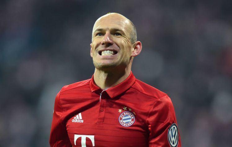 Arjen Robben Bayern Munich v Arsenal Arjen Robben bored of playing Gunners