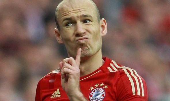 Arjen Robben Too late Arjen Robben dismisses Man Utd interest but