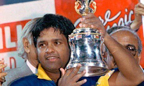 Arjuna Ranatunga (Cricketer) in the past