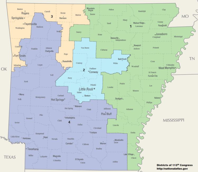 Arkansas's congressional districts
