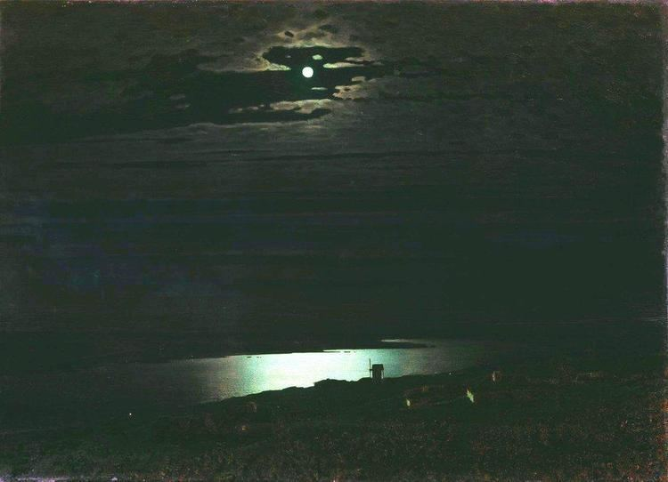 Arkhip Kuindzhi Moonlight Night on the Dnieper Arkhip Kuindzhi WikiArtorg