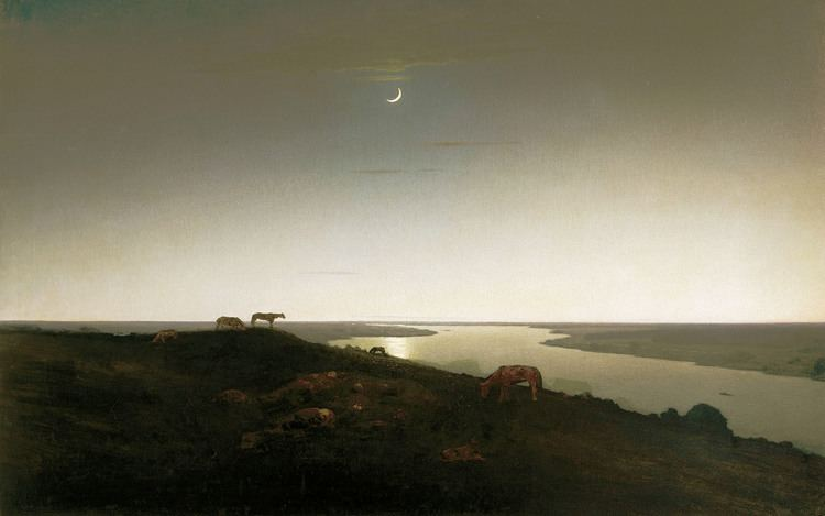 Arkhip Kuindzhi Arkhip Kuindzhi Kuinji Night Grazing Nightwatch The