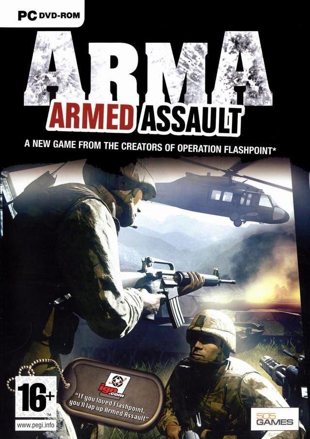 ARMA: Armed Assault httpsgamefaqsakamaizednetbox07269072fro