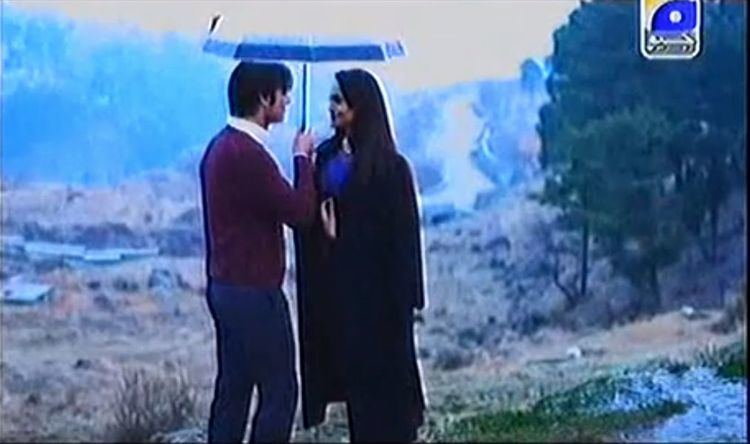 Armaan (2013 film) movie scenes  in the rain and sharing the umbrella should ve been a memorable moment but fell flat all I could think about was how cold Fawad looked in that scene