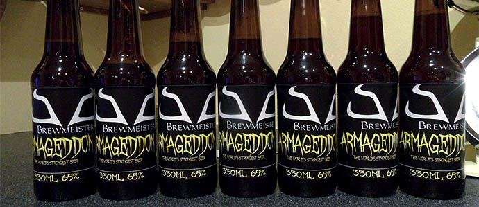 Armageddon (beer) Scotland39s Brewmeister Introduces Armageddon World39s Strongest Beer