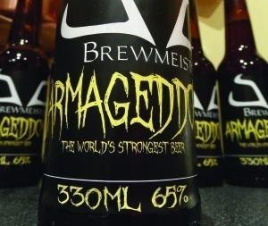 Armageddon (beer) Armageddon 65 ABV beer brewer denies Brewdog contest