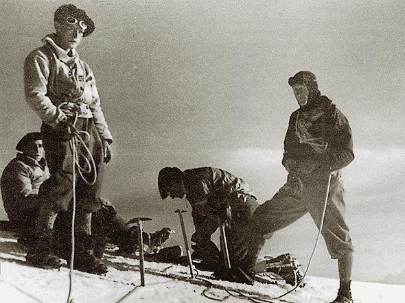 Armand Charlet Alpinist in akademik Goreljudje