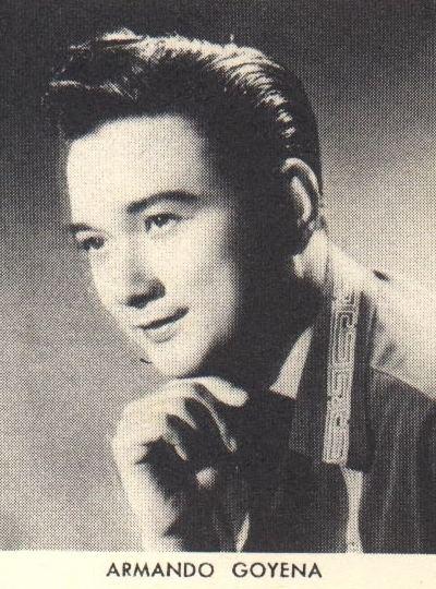 Armando Goyena Armando Goyena Filipino actor died from a pulmonary