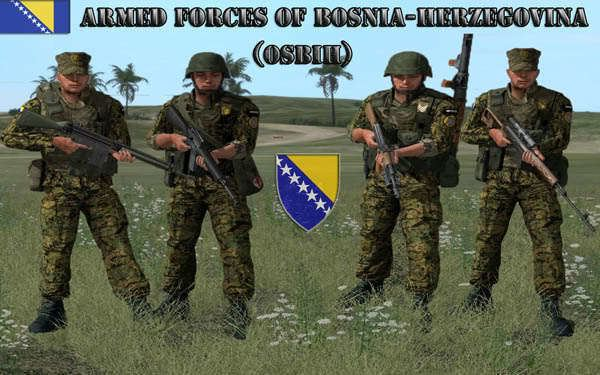 Armed Forces of Bosnia and Herzegovina Armed Forces of BosniaHerzegoina OSBIH Release ARMA ADDONS