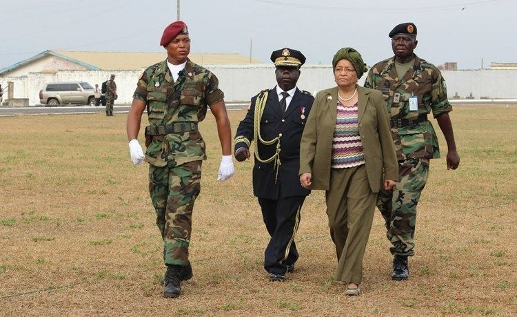 Armed Forces of Liberia Liberia President Sirleaf Nominates New Armed Forces of Liberia