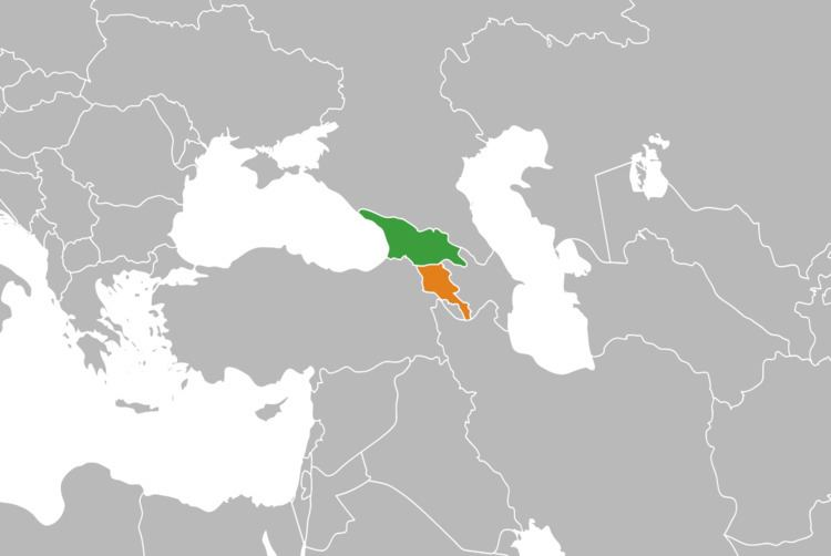 Armenia–Georgia relations
