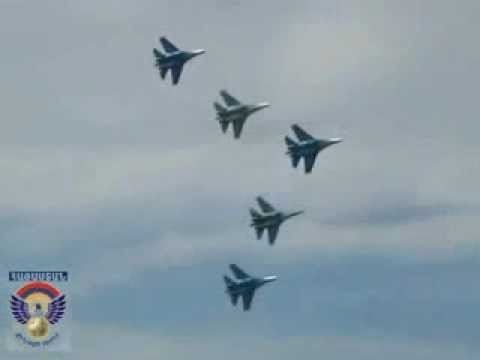 Armenian Air Force Armenian Air Force Su 27 Fighter Jets YouTube