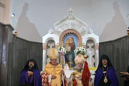 Armenian Catholic Church New Armenian Catholic Church Consecrated in Gyumri Armenian News